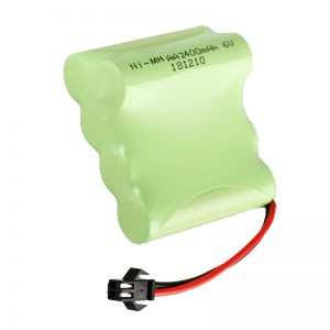 NiMH סוללה נטענת AA2400 6V צעצועים חשמליים נטענים חבילת סוללות