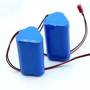 נטענת ליתיום 3S1P 18650 10.8v 2250mah סוללת ליתיום יון למכשיר רפואי