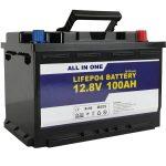 החלפת GEL / AGM סוללת סוללה לאחסון סוללה 12v 100ah LifePo4 סוללת ליתיום יון