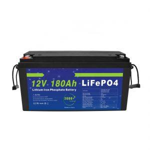 סוללת ליתיום LiFePO4 12V 180Ah למערכות אחסון אנרגיה סולארית לאופניים חשמליים