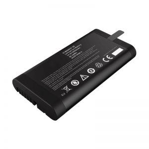 14.4 V 6600 mAh 18650 סוללת ליתיום יון סוללת פנסוניק לבודק רשת עם יציאת תקשורת SMBUS