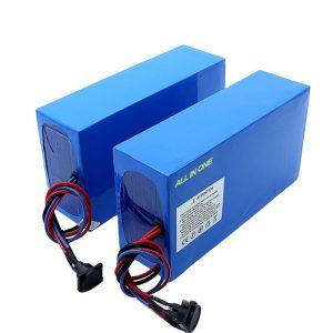 ALL IN ONE תאים 13S7P 18650 סוללת 48v 20.3ah אופניים חשמליים