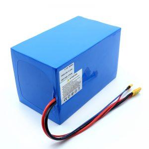 סוללות ליתיום 18650 48V 51.2AH סוללות ליתיום יון 24V 30V 60V 15ah 20Ah 50Ah 18650 48V סוללת ליתיום יון עבור קורקינט חשמלי