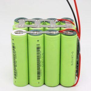 סיטונאי מותאם אישית 18650 ליתיום 4s3p עמיד למים לוח PCB סוללה מחזור עמוק 12 v 10AH לכלי חשמל