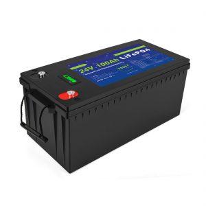 סוללת ליתיום יון מחזור עמוק Lifepo4 24v 200ah סוללת אחסון סולארית 3500+ מחזורי סוללת ליון