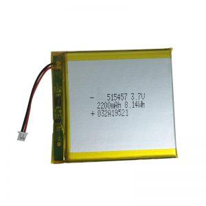 3.7V 2200mAh סוללות ליתיום פולימריות למכשירים ביתיים חכמים