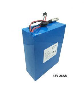 סוללת ליתיום 48v26ah עבור קטנועים חשמליים etwow סוללה גרפין אופנוע חשמלי 48 וולט יצרני סוללות ליתיום