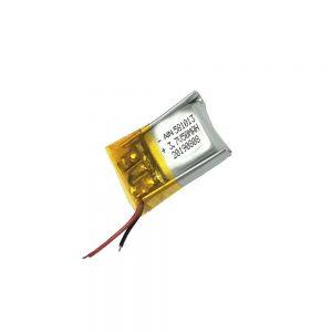 סוללת ליתיום פולימר איכותית 3.7V 50mAh סוללה 581013