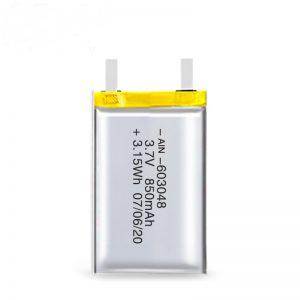 LiPO סוללה נטענת 603048 3.7V 850mAh / 3.7V 1700mAH / 7.4V 850mAH