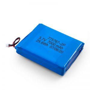מותאם אישית 3.7V 2450 2600 3900 4000 4500 4700 5000 6000 9000Mah סוללת ליפו פולימרית