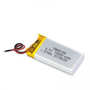 LiPO סוללה נטענת 7866120 3.7V 10000mAh / 3.7V 20000mAH / 7.4V 10000mAh