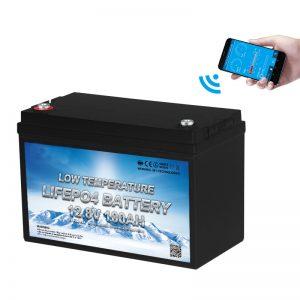 סוללה LiFePO4 בטמפרטורה נמוכה 12V 100AH