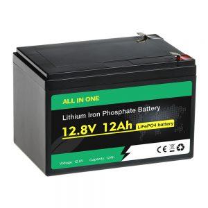 סוללת החלפת חומצה עופרת 12V 12Ah סוללה LiFePO4