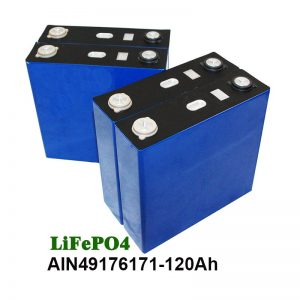 LiFePO4 סוללה פריזמטית 3.2V 120AH עבור אופנוע מערכת סולארית UPS