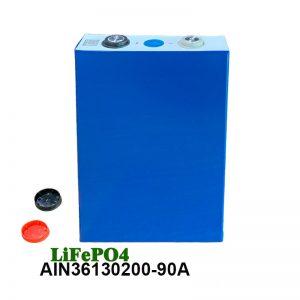 LiFePO4 סוללה פריזמטית 3.2 V 90AH lifepo4 סוללה נטענת לסוללות חשמל לכלי רכב חשמליים