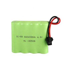 סוללה נטענת NiMH AA2400mAH 4.8V