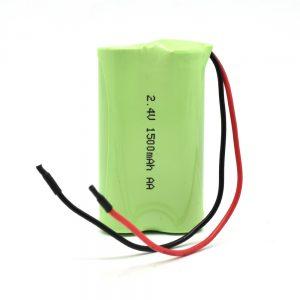 NiMH סוללה נטענת AA1500mAh 2.4V
