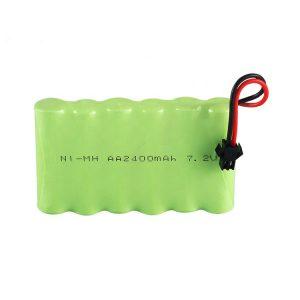 סוללה נטענת NiMH AA 2400mAh 7.2V