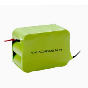 NiMH סוללה נטענת SC 2400mAH 14.4V