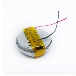 LiPO סוללה מותאמת אישית 1654 3.7V 120mAh