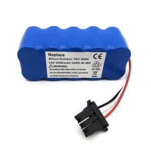 סוללת 12v ni-mh לשואב אבק TEC-5500, TEC-5521, TEC-5531, TEC-7621, TEC-7631